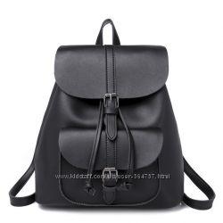 Женский рюкзак-сумка эко-кожа, городской 2 цвета  Жіночий рюкзак