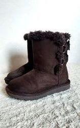 Airwalk США Отличные деми угги теплые сапоги ботинки шоколад р.23,5 14,5 см