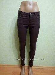 Женские стрейчевые штаны, под кожзам.