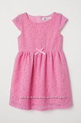 Платье кружевное НМ 6-8 лет