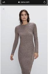Платье тёплое  Zara размер эль