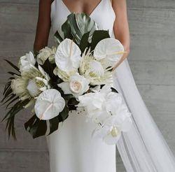 Букет невесты и свадебная флористика