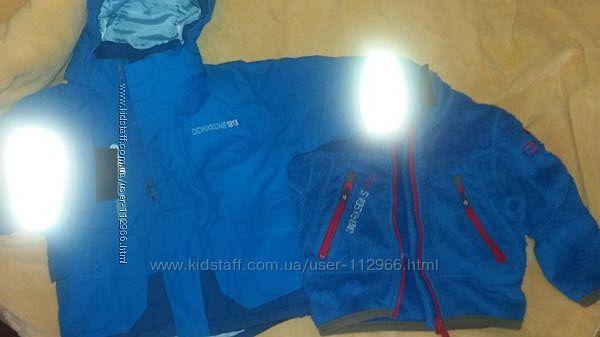 Куртка Didriksons Jesse и флиска 806см