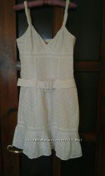 Платье из натуральной прошвы Laundry by Design