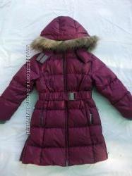 Пальто-пуховик Хуппа, размер 116, бу