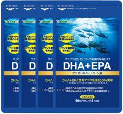 Комплекс омега -3 жирных кислот DHA&EPA , Seedcoms, Япония