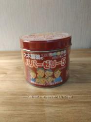 Мультивитамины и минералы в виде желе с клубничным вкусом для детей, Япония