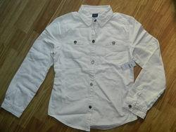 Коттоновая  рубашка на  8 лет