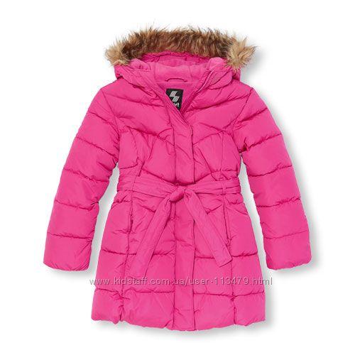 Зимнее пальто на девочку 9-10 лет The children&acutes place