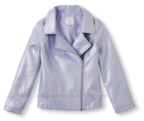 куртка - косуха The children&acutes place на девочку на 10-11 лет