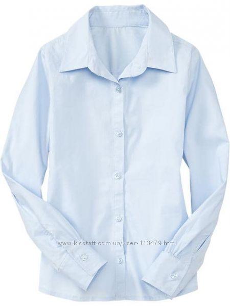 Школьные рубашки GAP для девочки на 8-9 лет