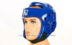 Шлем для тхэквондо Mooto BO-5094 белый, синий, красный