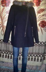 Фірмове нове пальто-косуха New Look, 16, В&acuteєтнам.