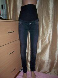 Фірмові базові джинси для вагітних H&M, 40 р, Турція.