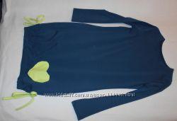 платье с апликацией сердце