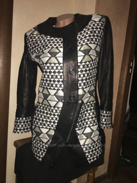 Кожаная куртка Турция С-М
