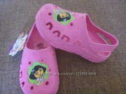 Кроксы Dora, 910размер, стильные и качественные стелька 17см.