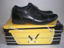 Кожанные школьные туфельки SHAGOVITA р. 35