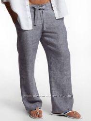 Брюки, штаны , бриджи шорты мужские из льна любого цвета