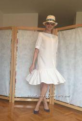 Льняное платье, туника. Летняя городская одежда Yacool из льна