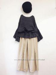 Женские свободные широкие юбка-брюки. Цвет и размер любой