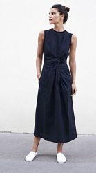 Натуральное льняное платье, брендовое платье из льна 100 лен