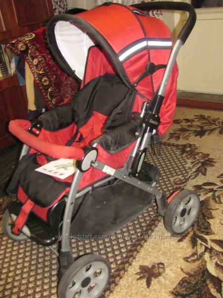 Наша коляска-трансформер Geoby 05С519-ХТ