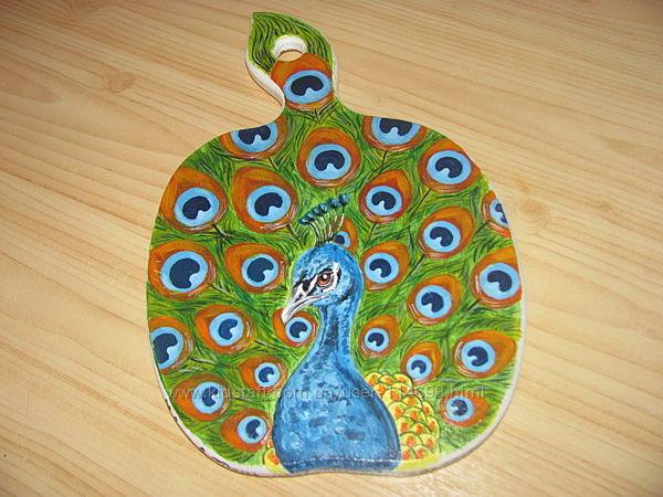 Эксклюзивный подарок - ручная роспись деревянных изделий, любой рисунок
