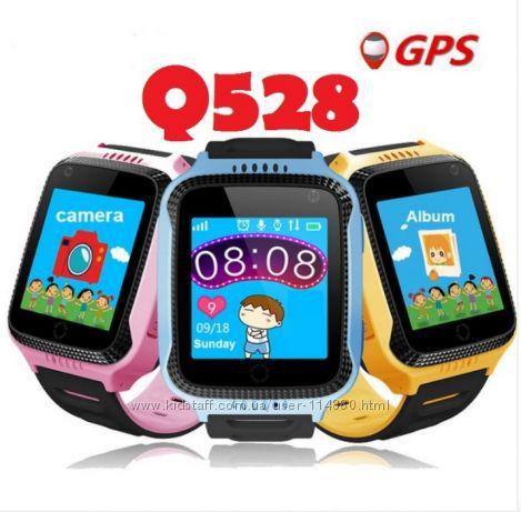 Детские умные часы Q528 и настройки