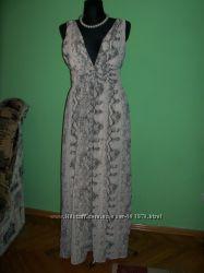 Нарядное шифоновое платье Н & M  р. 44