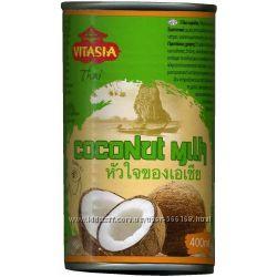Кокосовое молоко VitAsia - 400 мл. Таиланд.