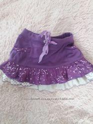Супер юбка на клеш в два слоя на 122-128 куплена в Будапеште