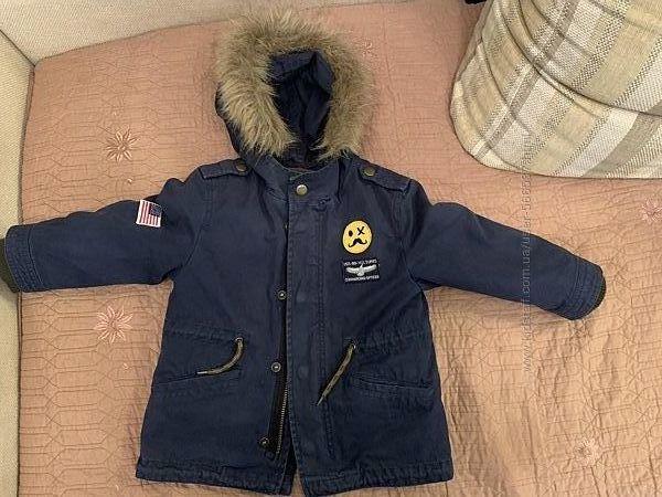 Куртка-парка для мальчиков Zara 18-24 м