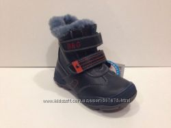 Зимние сапожки кожаные B&G 28 размер