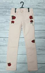 Нарядные джинсы H&M  на девочку, 9-10 лет. Распродажа.