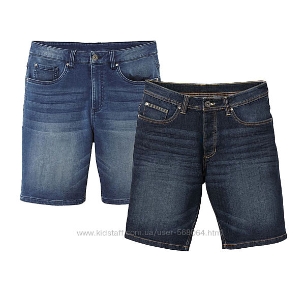 Шорты джинсовые мужские Livergy Германия