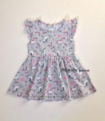 Платье летнее Единороги 1. 5-8 лет Primark