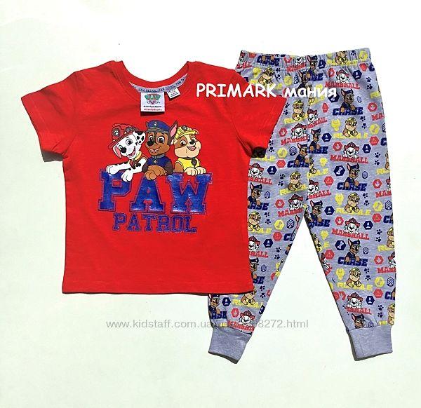 Трикотажная пижама для мальчика 1.5-8 лет Щенячий патруль Primark