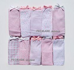 Трусики 10 штук для девочки Primark