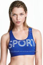 Спортивный бюст XS  H&M