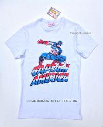 SALE. Мужская футболка Капитан Америка Primark