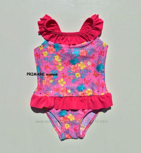 Совместный купальник для девочки 86-98 см Primark