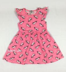 Платье для девочки единороги 3-8 лет Primark