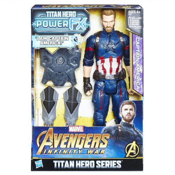 Captain America. Любимые супер герои из мультфильмов. Игровые наборы.