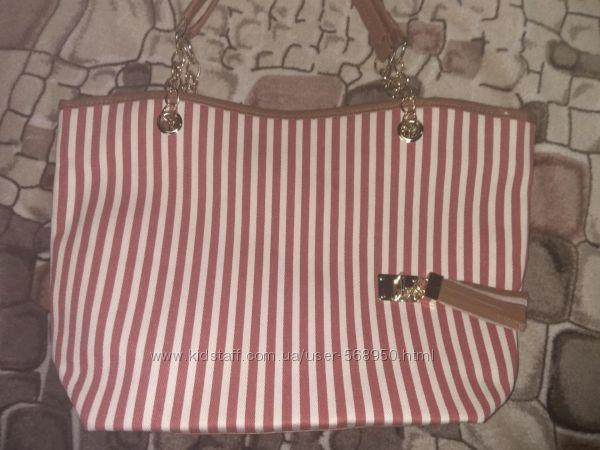 Большая текстильная женская сумка