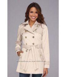 Jessica Simpson оригинал пальто плащ бежевый на наш М