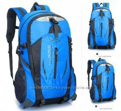Рюкзак спортивный многофункциональный для спорта походов туризма синий