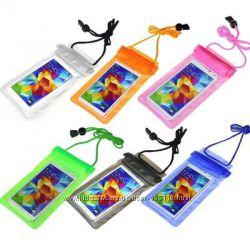 Водонепоницаемые чехлы сумки для смартфонов до 5. 5 дюймов с шнурком на шею