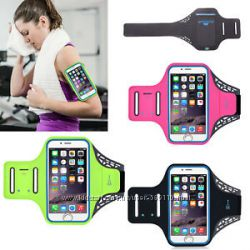 Спортивный чехол на руку для смартфонов до 6. 5 дюймов универсальный