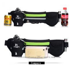 Спортивный пояс для бега c бутылкой воды поясная сумка для бега спорта